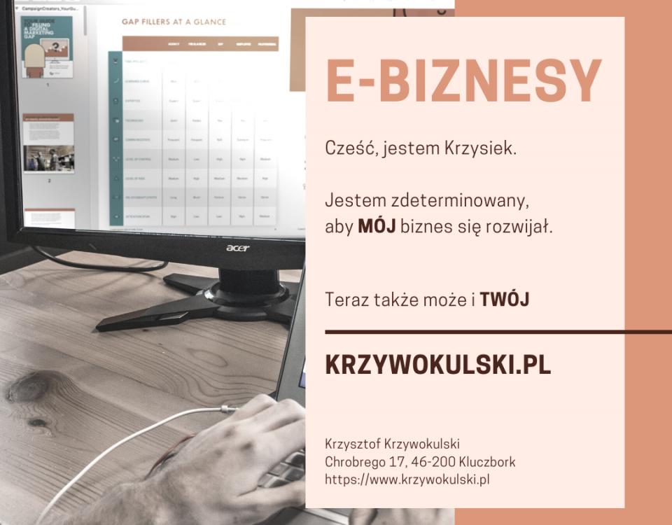 strony internetowe kluczbork